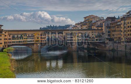 The Most Famous Bridge Of Florence: Ponte Vecchio