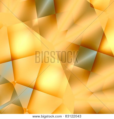 Abstract soft blurry cream colored background. Creative light effect. Ornate digital art design.