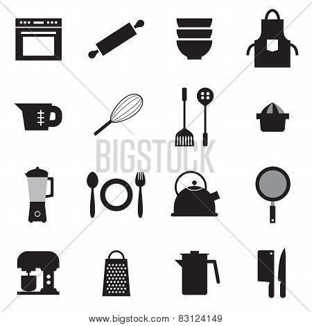 Utensils Icons Set.