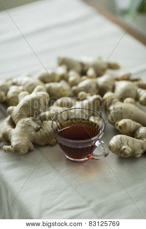 Tea and ginger