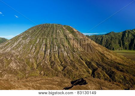 Mound Created By Bromo Eruption