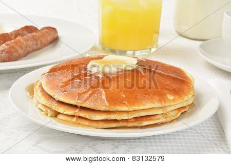 Hotcakes And Syrup