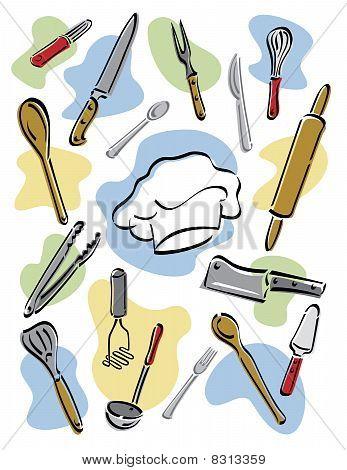 Herramientas del chef