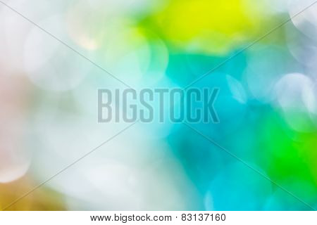 Defocused Abstract Bokeh Background