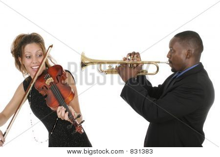 2 Musicians Play Around