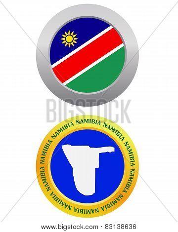 Button As A Symbol  Namibia