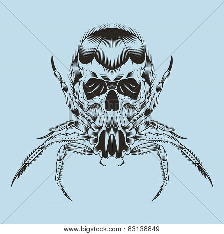 Illustration of a monster.