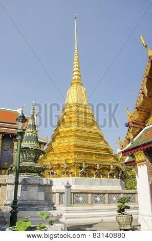 Bangkok, Thailand - Royal Palace and Wat Phra Kaeo Complex