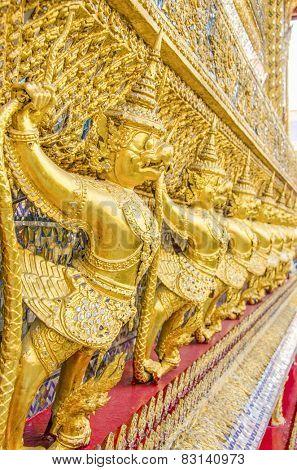 Royal Palace and Wat Phra Kaeo Complex in Bangkok, Thailand