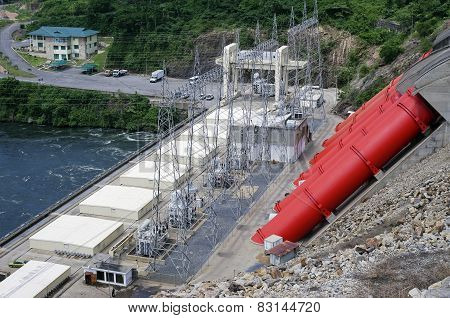 African Hydroelectric Power Station