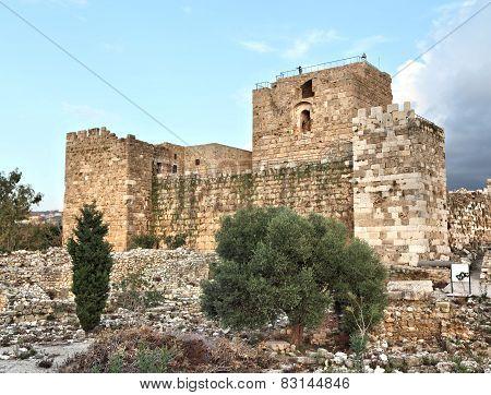 Byblos Crusader Fort, Lebanon