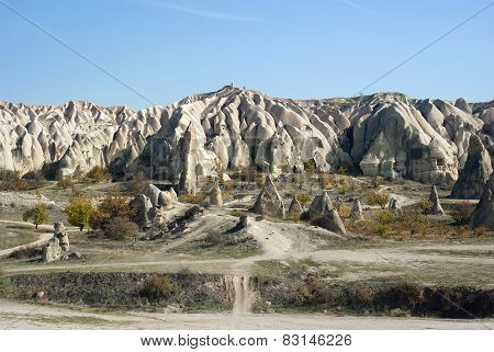 Ancient  Autumn Mountains Of Turkey