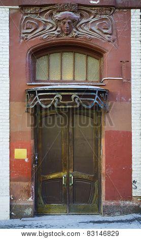 Old entrance.