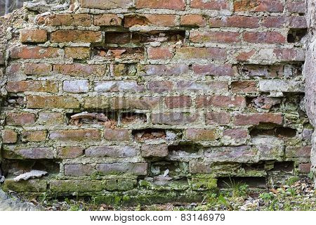 Chipped  Bricklaying