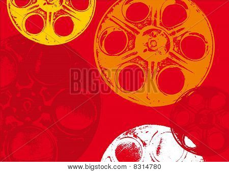 Film spools background