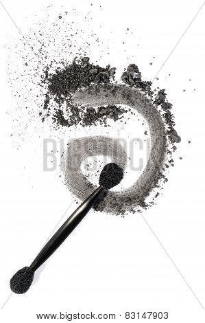 Dark Grey Eyeshadow