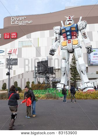 Robot In Odaiba