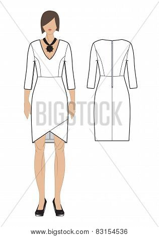 Vector Women's Dress