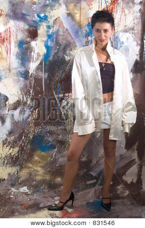 Model Erotic Girl
