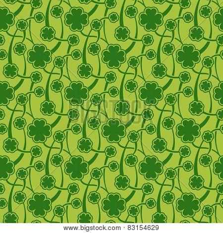 St. Patrick day seamless pattern