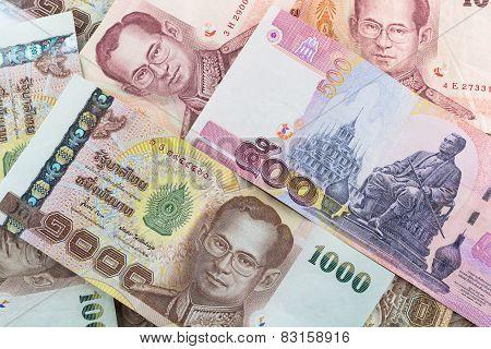 Thai Baht Banknote