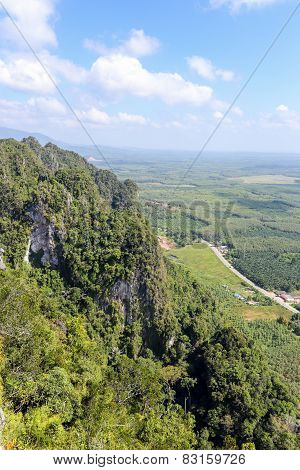 Aerial View From Mountain