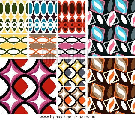 Swatch Retro pattern