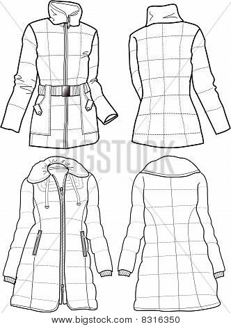 lady quilted jackets