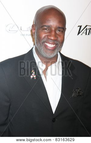 LOS ANGELES - FEB 18:  Len Burnett at the ICON Mann Power Dinner Party at a Mr C Beverly Hills on February 18, 2015 in Beverly Hills, CA