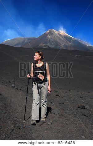 Trekking On Etna Volcano (sicily)