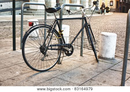 Classic Bike Parked
