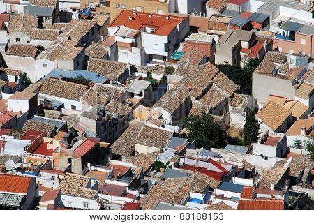 City rooftops, Jaen.