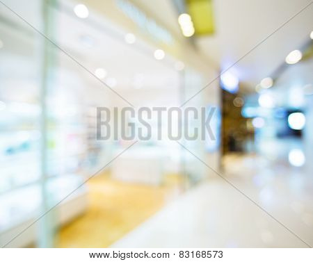 Blur view of Shopping mall