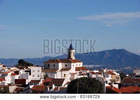 White town, Yunquera.