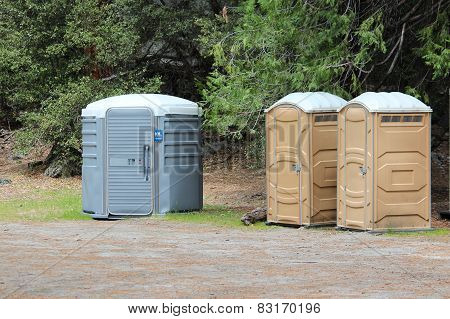 Restrooms in mountains