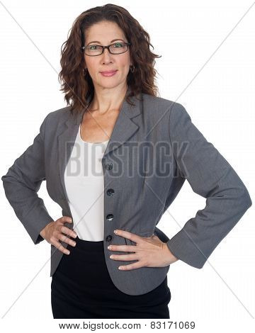 Middle Aged Female Professional