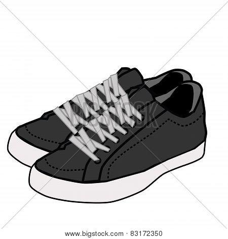 shoe vector illustration