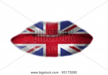 Mouth With Flag