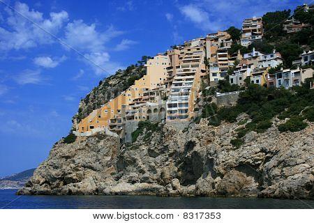 Mallorca, Built Up Coastline Of Port D'andratx