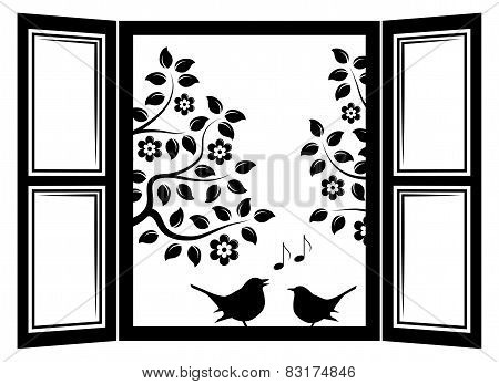 Birds In The Window