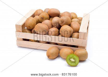 Kiwifruits In Box