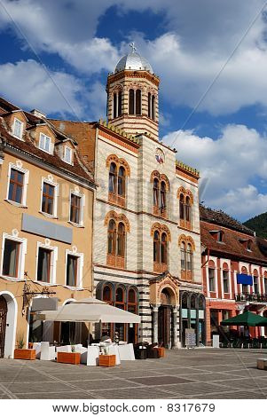Byzantine Style Church In Brasov City, Romania