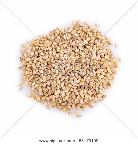 Sesame Isolated On A White Background
