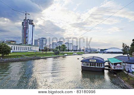 Cityscape In Minsk