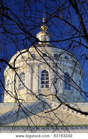 Mikhail Arkhangel Orthodox Chirch In Orel, Russia
