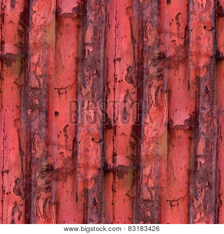 old iron red background texture with rust and scuffed wallpaper