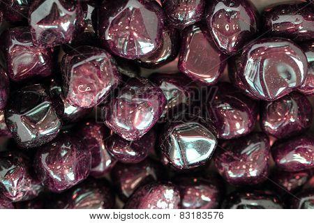 Red Garnets Gems