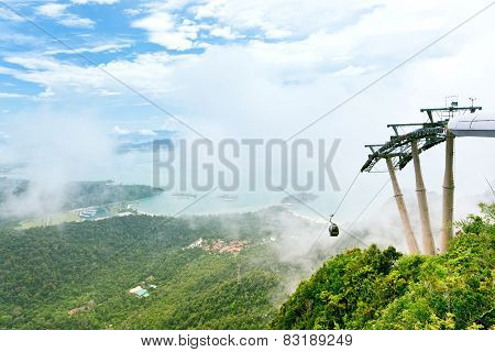 Langkawi Cable Car attraction, Malaysia