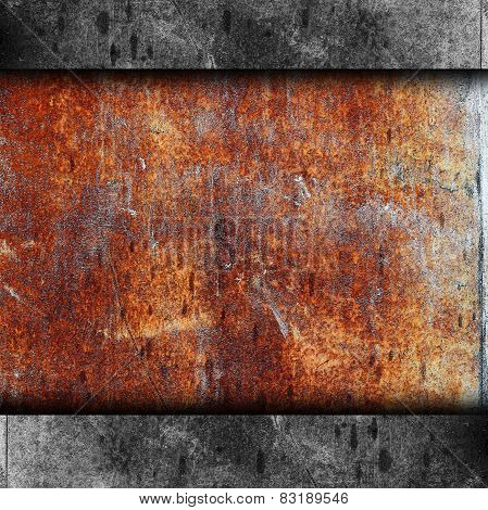 rusty metal background texture iron old rust