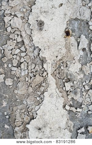 Crushed Concrete Surface